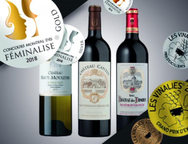 Awards for our Bordeaux properties