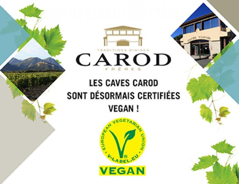 Clairette de Die BIO - Vegane Label